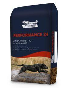 performance 24 dog feed