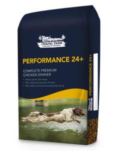 performance 24 plus dog feed